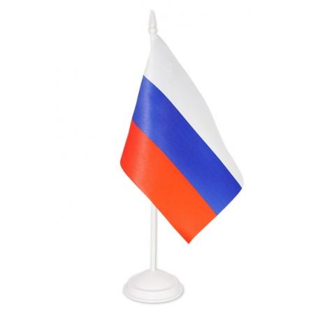 Флаг России настольный