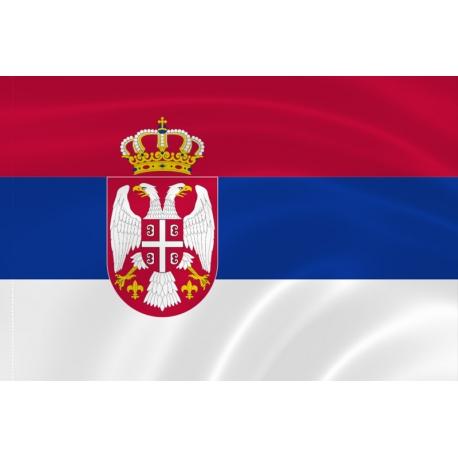 Флаг Сербии