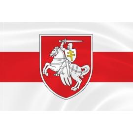 Флаг с гербом Погоня