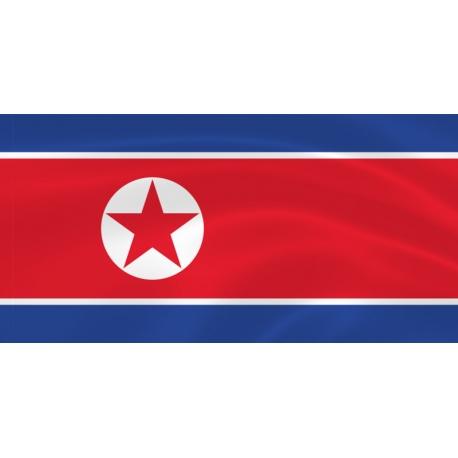 Флаг Северной Кореи (КНДР)