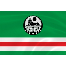 Флаг Ичкерии (Чеченской Республики до 2004 года)