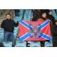 Флаг Новороссии с гербом