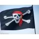 """Пиратский флаг №3 (""""с красной банданой"""")"""