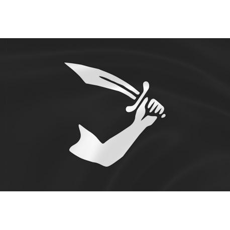Флаг пирата Томаса Тью