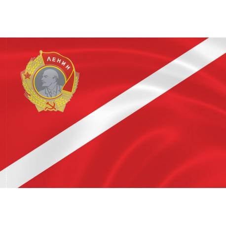 Флаг «Спартак» с орденом Ленина