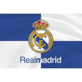 Флаг «Реал Мадрид» клетка
