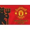 Флаг «Манчестер Юнайтед» дьявол