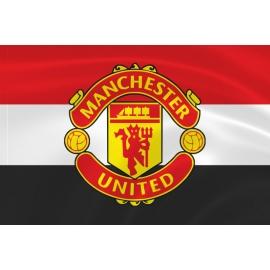 Флаг «Манчестер Юнайтед» трехцветный