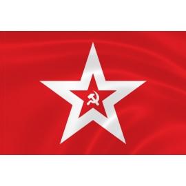 Флаг ВМФ СССР гюйс