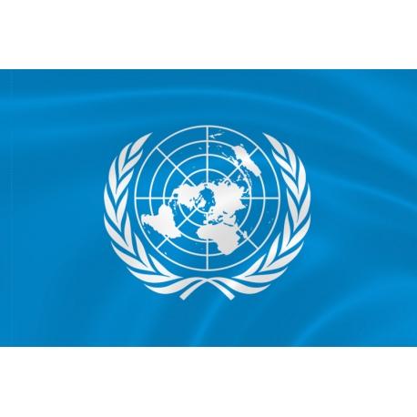 Флаг миротворческих сил ООН