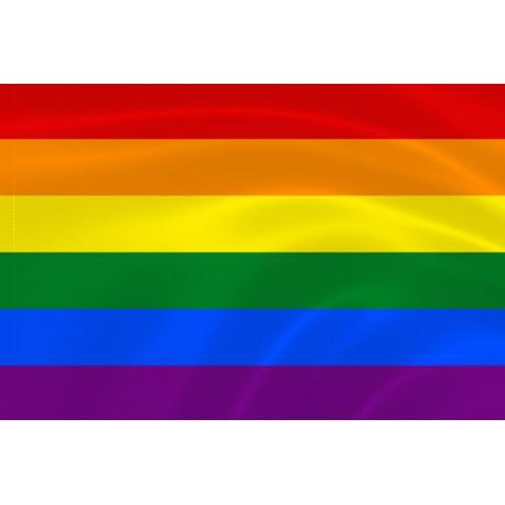 Флаг ЛГБТ радужный
